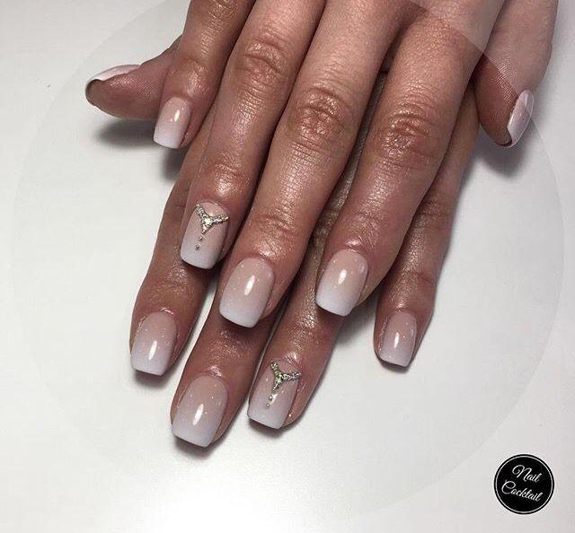 #ногти#nail#ombre#омбре#стразы#diamonds#look#fashion#style