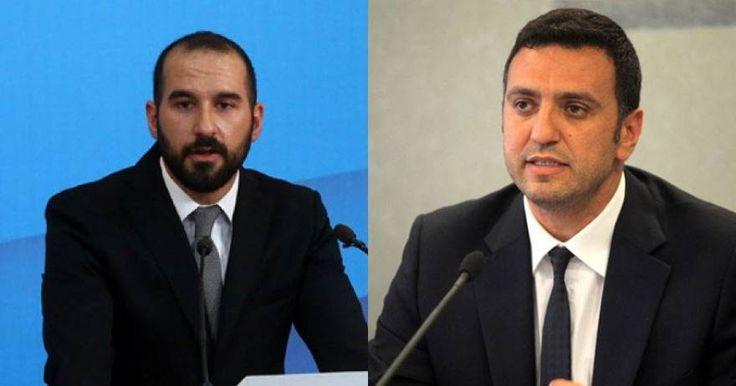 Διασταύρωσαν τα ξίφη τους Δ. Τζανακόπουλος και Β. Κικίλιας - Τι είπαν