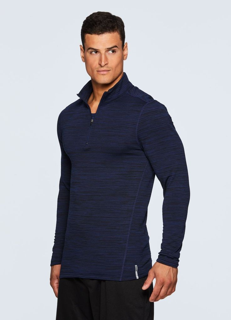 Stratus Fleece Lined 1/4 Zip Compression Shirt