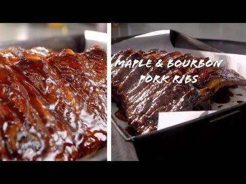 Basics To Brilliance Maple Bourbon Pork Ribs   Donna Hay