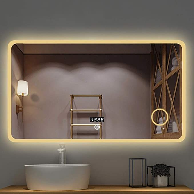 32++ Wall mounted bathroom cabinets with mirror and lights diy