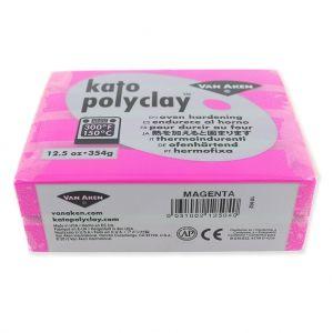 Pâte polymère Kato Polyclay 354 gr Magenta (n°504) : L'argile po