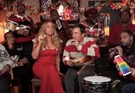 Jimmy Fallon, The Roots, Mariah Carey and classroom instruments All I Want For Christmas Is You - brilliant!