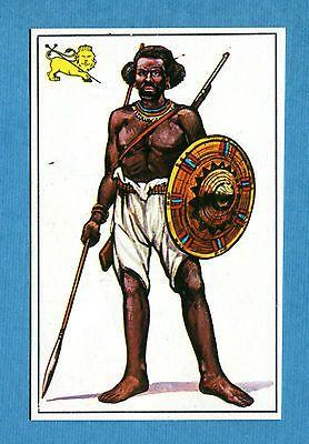 ARMI E SOLDATI - Edis 71 - Figurina-Sticker n. 311 - GUERRIERO ABISSINO -Rec