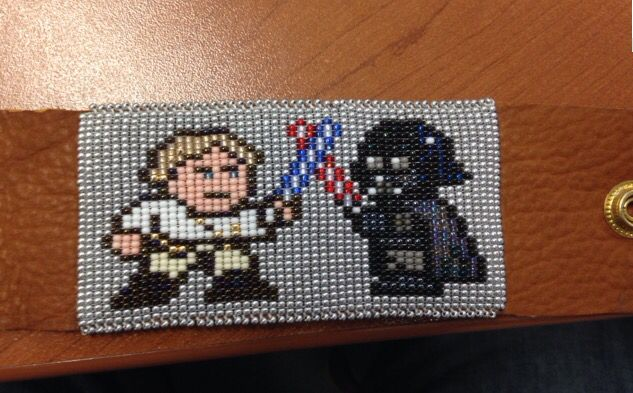 Star Wars beaded cuff.
