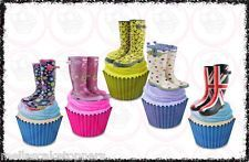 -wellington-boots-welly-mix-12-edible-cupcake-toppersfairy-cake-bun-decorations