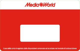 Complimenti! Richiedi la tua Carta MediaWorld CLUB - Mediaworld.it