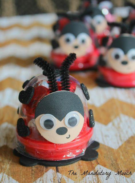 DIY Love Bug Candy Holder