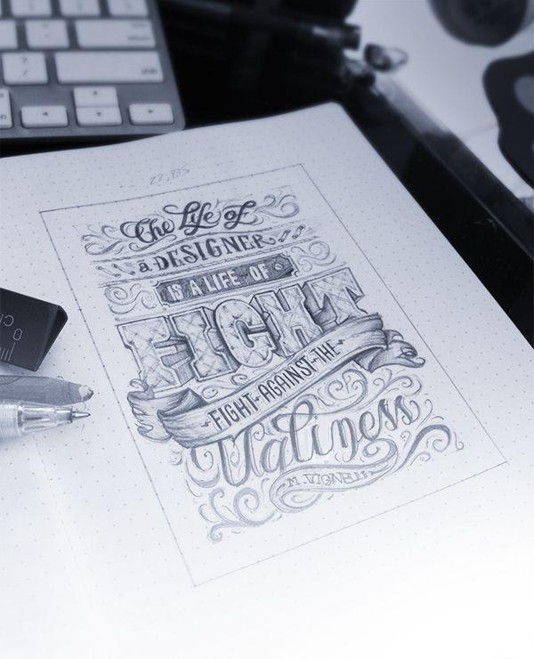 chalkboard design typography pencile paper