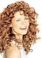 Long hairstyle with big curls reddish blonde image of long hairstyle for w