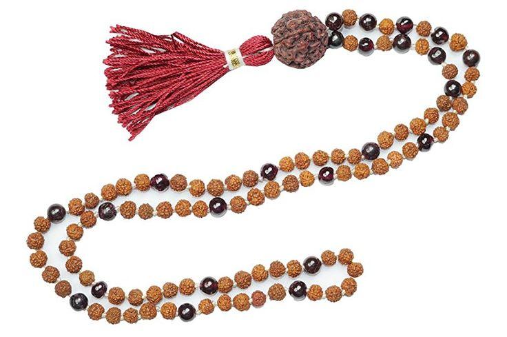 Yoga Gift Healing Mala beads Buddhist Necklace Knotted 108 SUN Energy Japamala  #yogamala #spiritualmala #sale #meditationmala