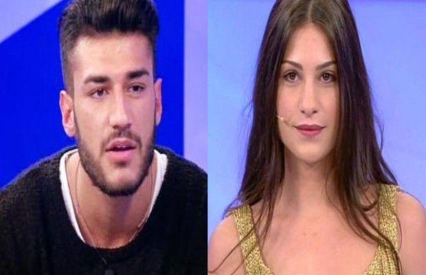 Ludovica Valli e Lorenzo Riccardi in #UominieDonne: Lorenzo è stato scoperto mentre era con una donna a cui darebbe appuntamento quasi tutti i giorni. E non è Ludovica. #UeD #Tronisti