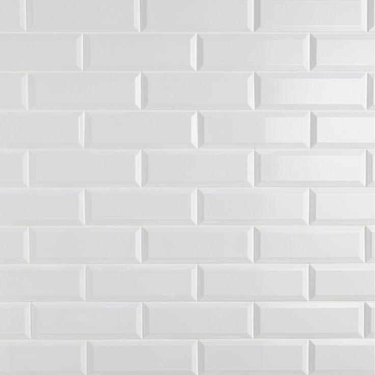 Destination du carrelage mur aspect mati re les blancs for Carrelage 20x20 blanc