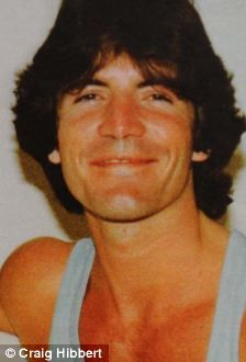 Simon Cowell, 1980. This is pretty funny w/ the feather bangs