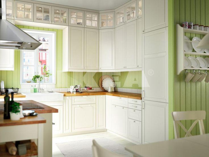 24 best Küche Bodbyn weiß images on Pinterest Ikea kitchen