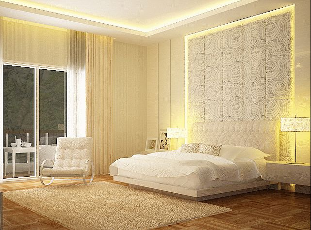 Dream White Bedroom Decorating Ideas
