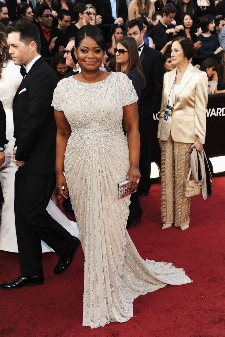 awesome #bridal #gown option, esp under 500USD. >> Red Carpet Sequin Gown in Venice - Plus Size Evening Shop | Tadashi Shoji on Oscar Winner Octavia Spenser on Oscar Night. want!