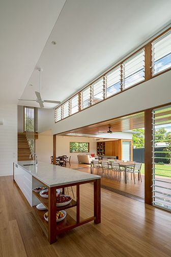 Brookes Residence, Brisbane by Arkhefield. Photography: Angus Martin