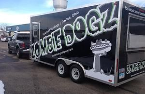 Zombie Dogz Gourmet Hot Dogs Home