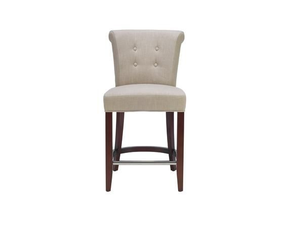 Marvelous Choose The Fashionable Addo Counter Stool For Your Sophisticated  Traditional Or Transitional Interior. With A Tufted Four Button Rolled Back  And Seat ... Idea