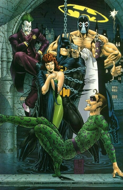 Batman and Rogue's Gallery