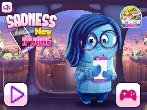 Inside Out - Sadness New I-Phone - Game Tutorial 2016
