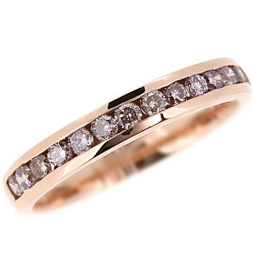 Jewelry Point - 0.50ct Pink Diamond Wedding Ring 14k Rose Gold Band, $499.00 (http://www.jewelrypoint.com/0-50ct-pink-diamond-wedding-ring-14k-rose-gold-band/)