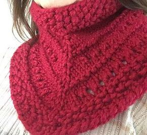 This is my quick and easy Cowl for the holidays or any day.
