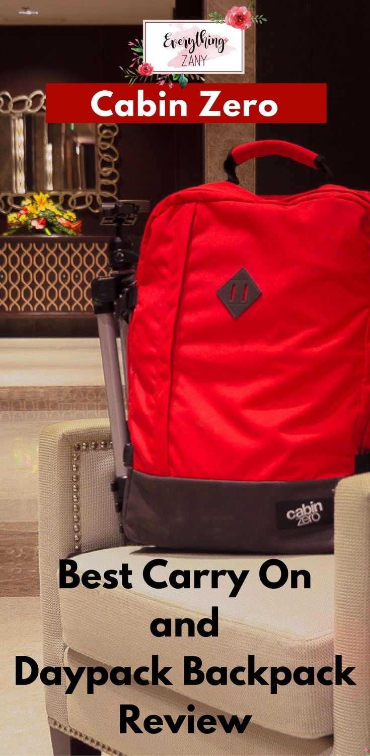 #CabinZero #Backpack   Cabin Zero Best Carry On and Daypack Backpack Review   Here is a Cabin Zero Travel Backpack review, best carry on and daypack when you're travelling!  A backpack is an essential gear for every traveller to make our journey easier. I recently travelled to Asia and tested the new travel backpack from Cabin Zero.