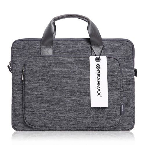 GEARMAX Canvas Business Laptop Handbag Shoulder Bag for MacBook Air / Pro 13.3 inch iPad Pro