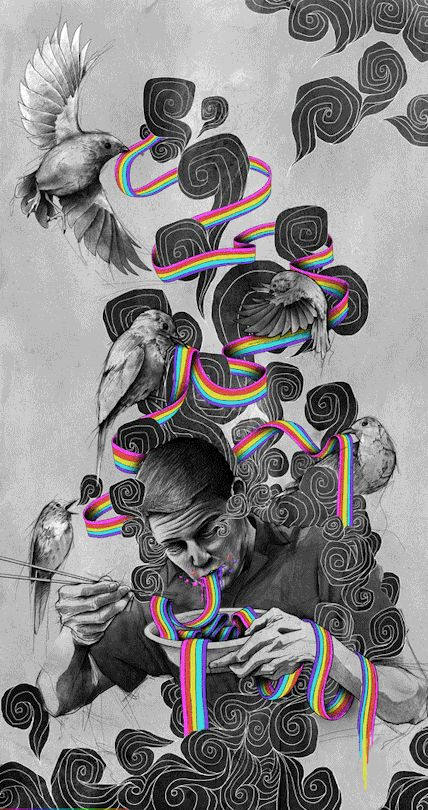 Liberate your mind #trippy #psychedelic
