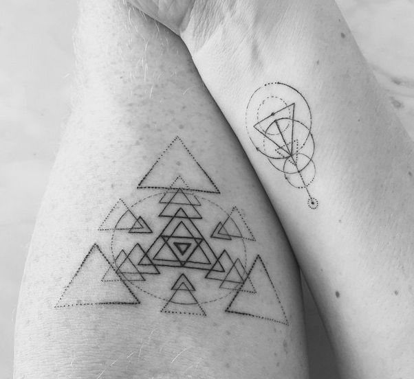 awesome Geometric Tattoo - Dr Woo's magnificence...
