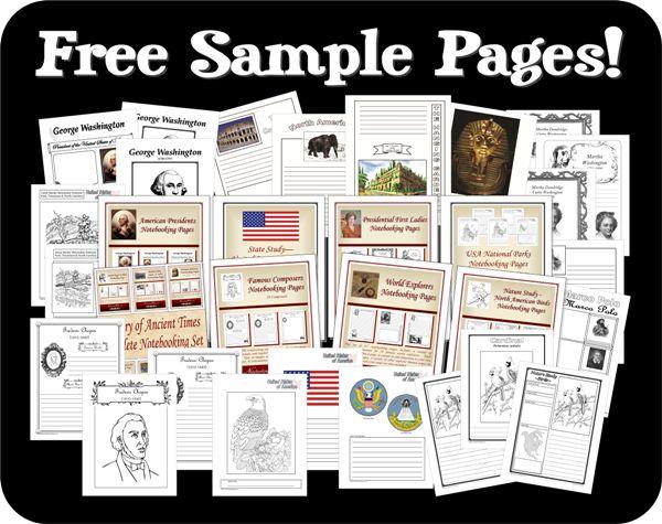 Notebooking | Free Notebooking Homeschool Printables, Worksheets (alternative), Charts, & Homeschool Resources —