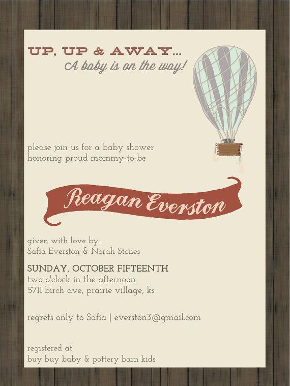 Vintage Travel Baby Shower Invitation // Printed set of 20 Invitations on Etsy, $40.00