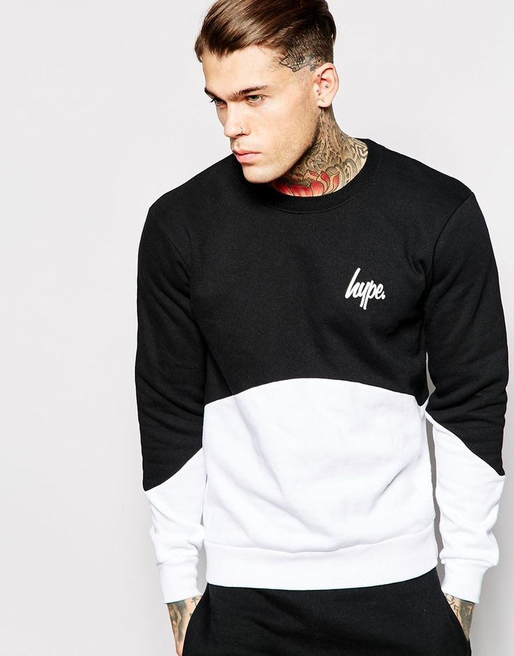 Hype+Sweatshirt+In+Cut+&+Sew