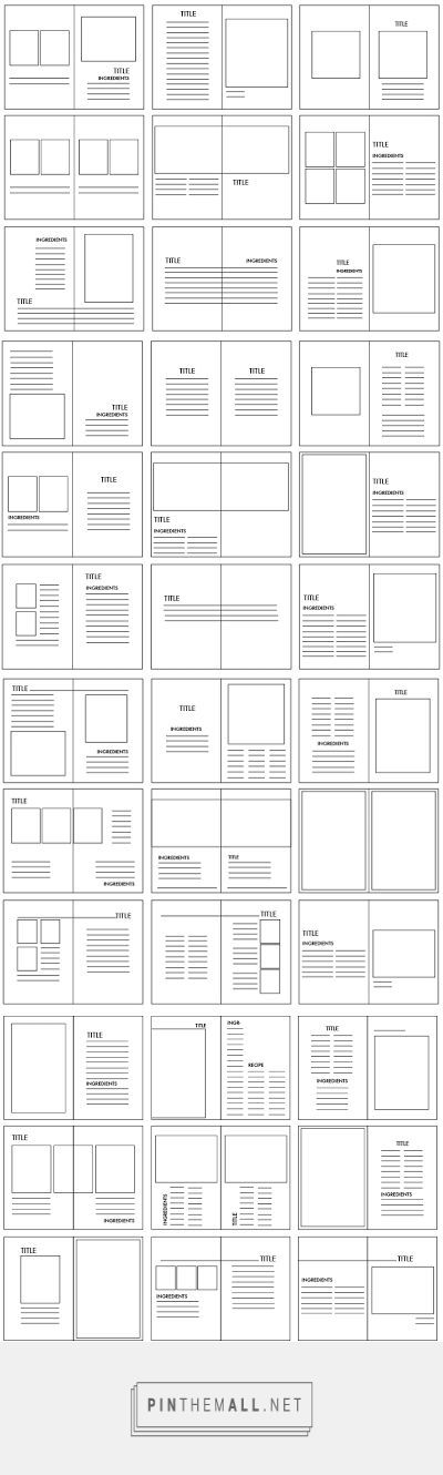 #ComposiciónPáginas #RetículasDESIGN PRACTICE. : KINFOLK; GRIDS AND LAYOUT DEVELOPMENT - created via http://pinthemall.net:
