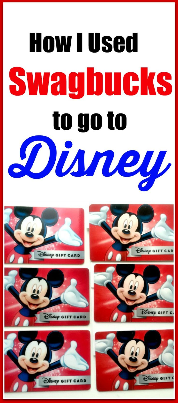 Are you planning a trip to Disney World? If so, here's a way you can earn Disney gift cards to spend at the parks, on your tickets, or your hotel. Click through to read more or pin now and read later.