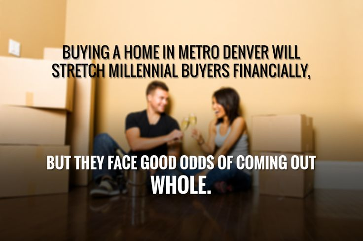 """""""Denver is a market toward the lower end of how long it takes for mortgage payments to become affordable,"""" said Ralph McLaughlin, an economist with Trulia.  Read more: http://dpo.st/1SpWKY2"""