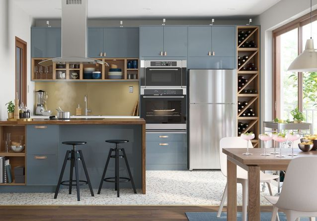 Cuisine Ikea Les Plus Beaux Modeles Du Geant Suedois Elle Decoration Cuisine Ikea Cuisine Moderne Meuble Cuisine