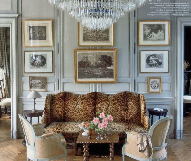 Sophisticated charm of my french country home: manoir de berthouville - Normandy home to Boston designer Charles Spada
