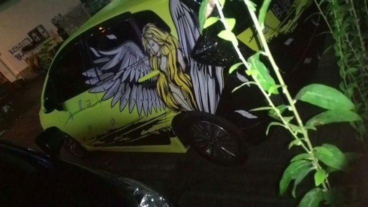 Nice car branding