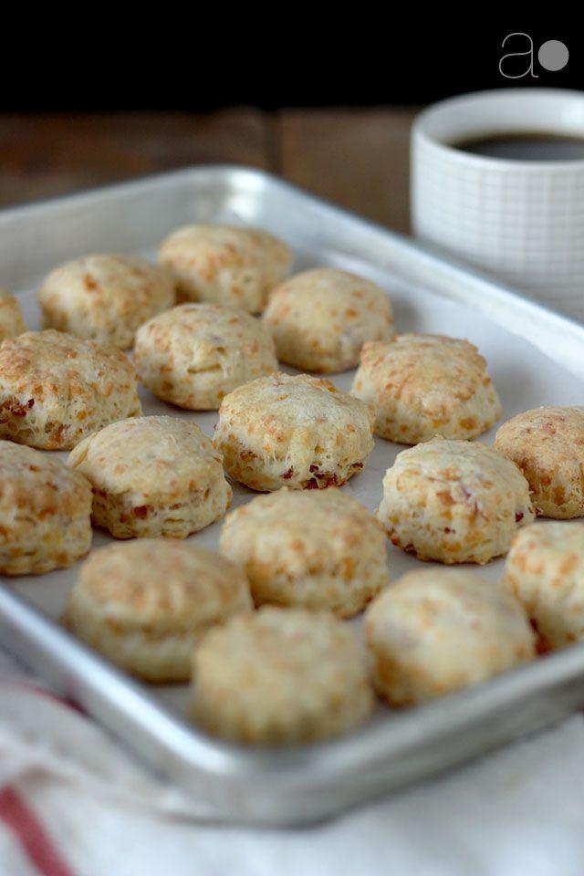 ... bacon afternoon tea forward ambrosia two bite cheddar bacon scones