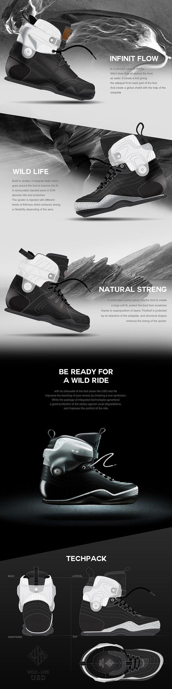 USD Wild Life skates concept on Behance