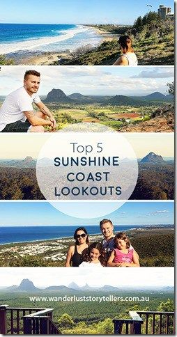 Top 5 Sunshine Coast, QLD, Australia lookouts! From the experts who have lived on the coast for over 6 years ;) Hop over to the blog for some gorgeous views!