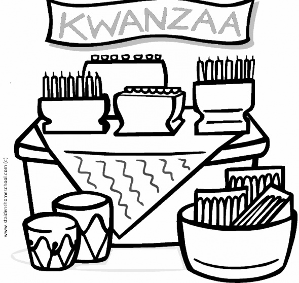 Free Kwanzaa Coloring Pages for Kids   Kwanzaa printables ...