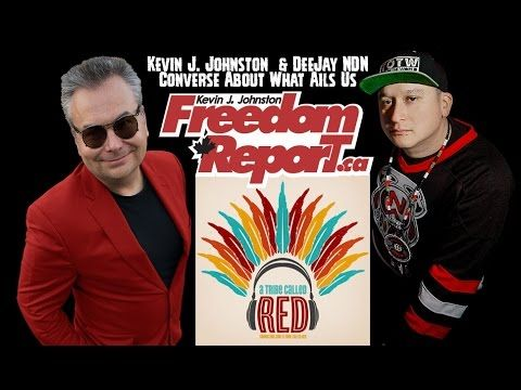 Kevin J Johnston And DeeJay NDN From A Tribe Called Red Work Out Their D...