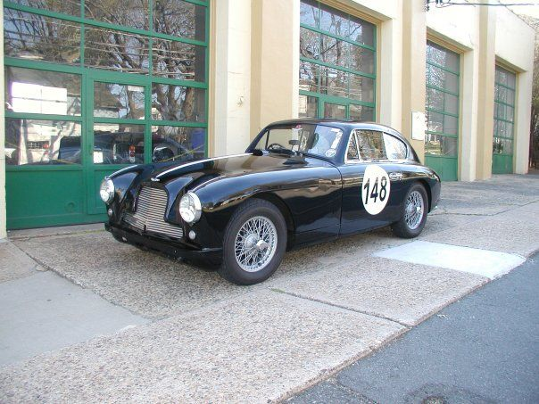 1954 Aston Martin DB 2/4 Saloon. Perfect for vintage races and rallies.  SOLD