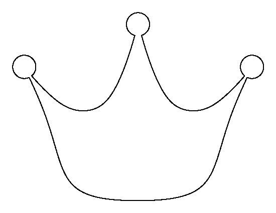 Best Crown Images On   Crown Template Felt Crown And
