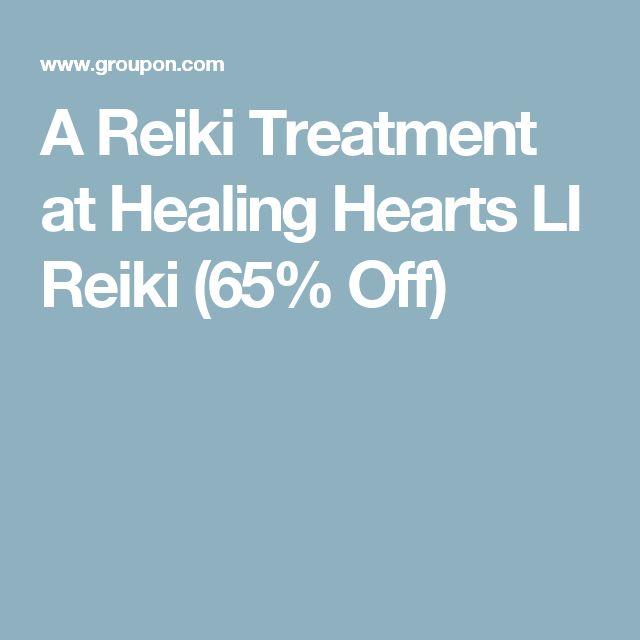A Reiki Treatment at Healing Hearts LI Reiki (65% Off)