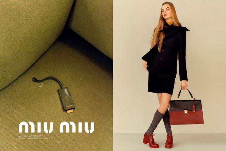 Miu Miu offers up retro inspired looks for the pre-fall season